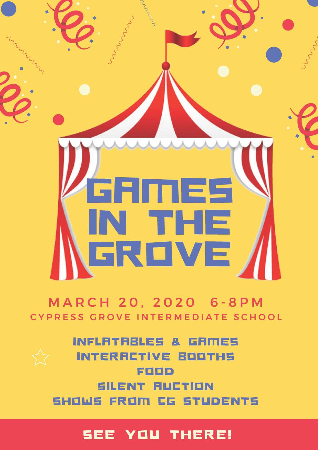 Games in the Grove
